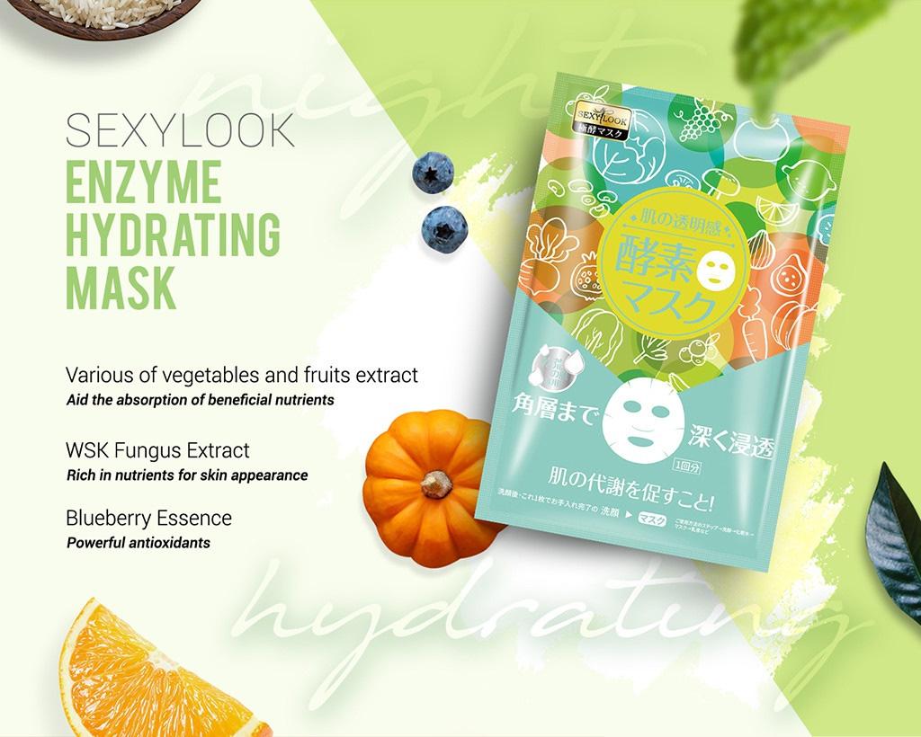 Enzyme Moisturizing Mask - Hydrating Mask