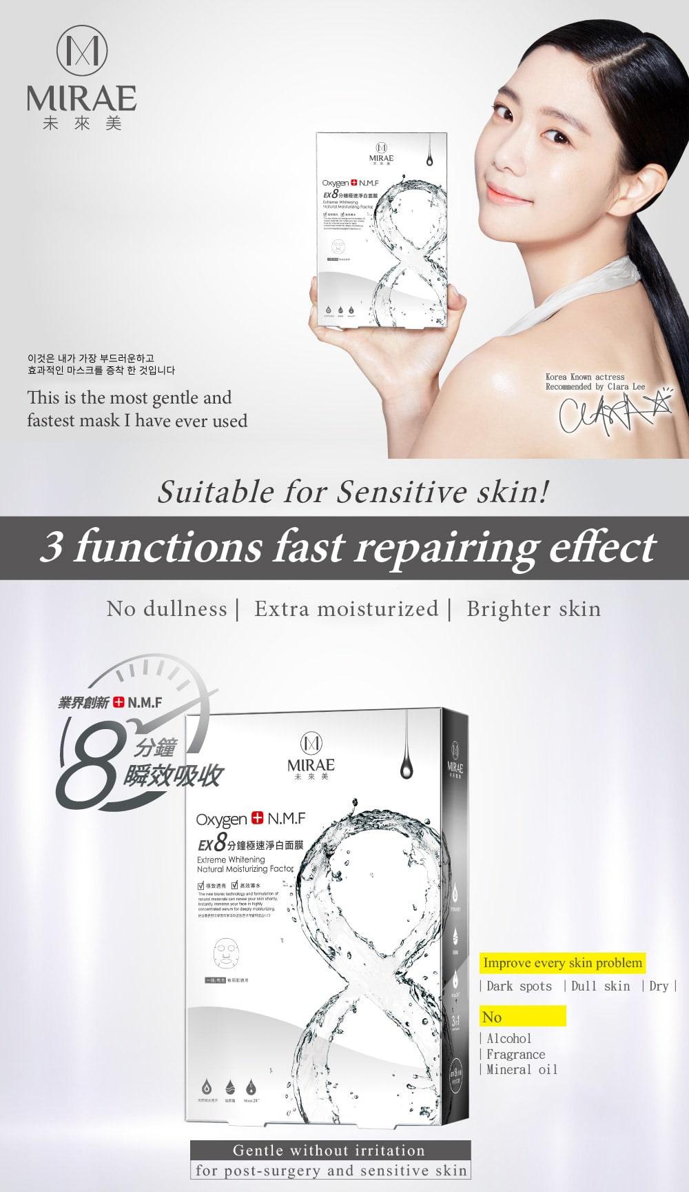 EX8-Minutes Whitening Mask - Intro