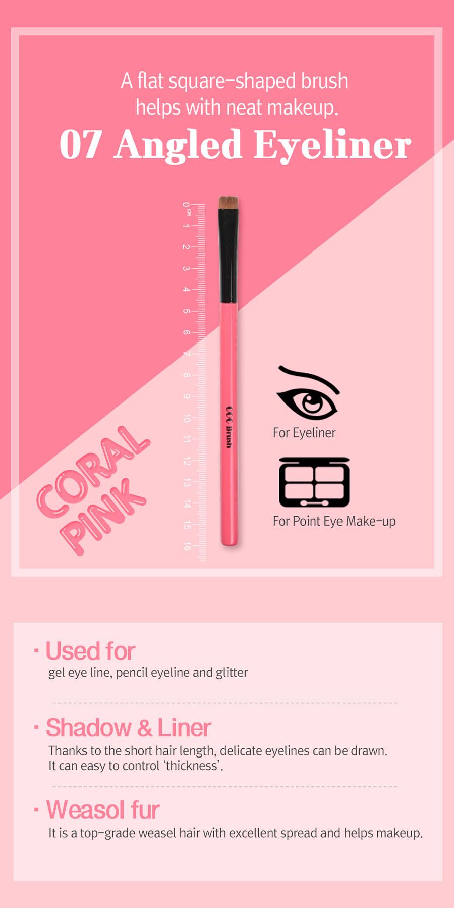 Angled Eyeliner Brush - Intro
