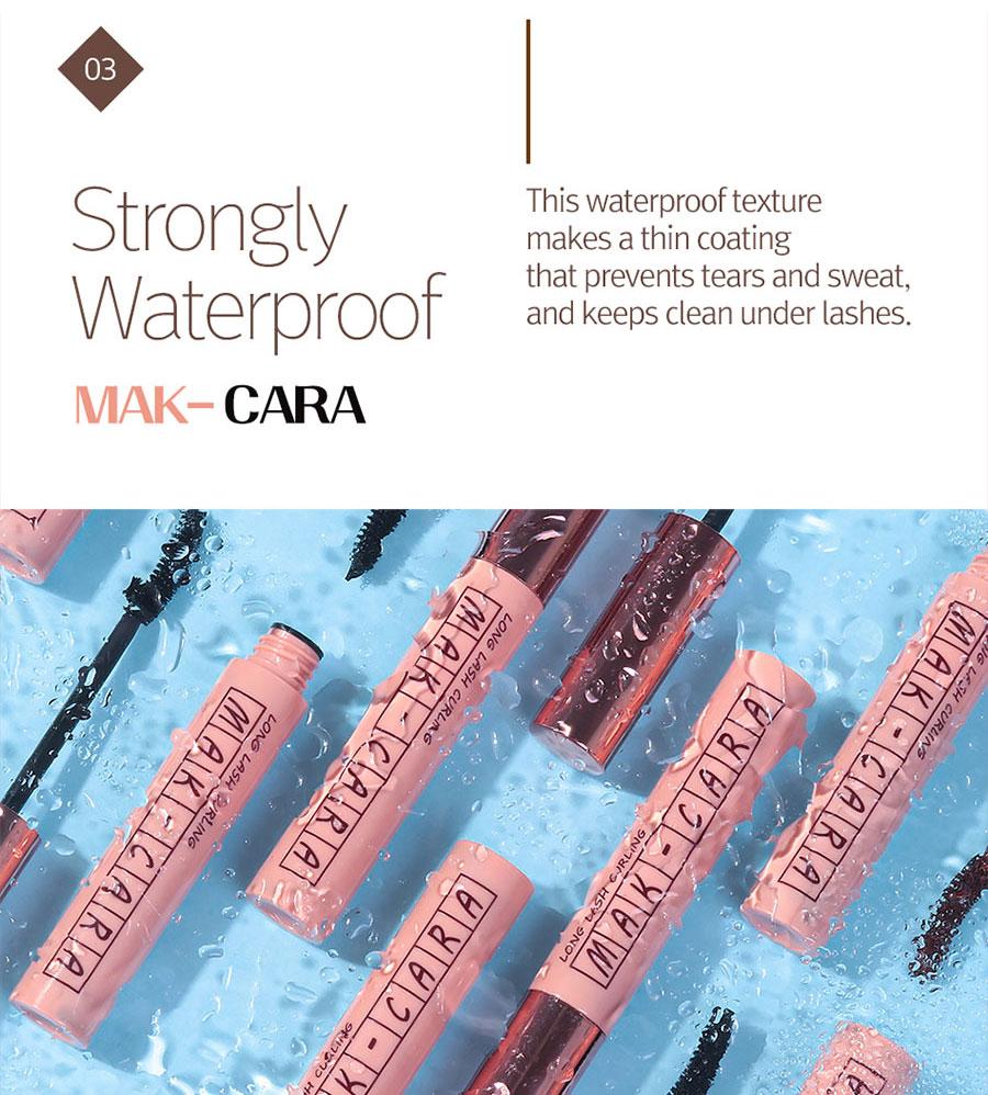 Mak-Cara Long Lash Curling - How to use