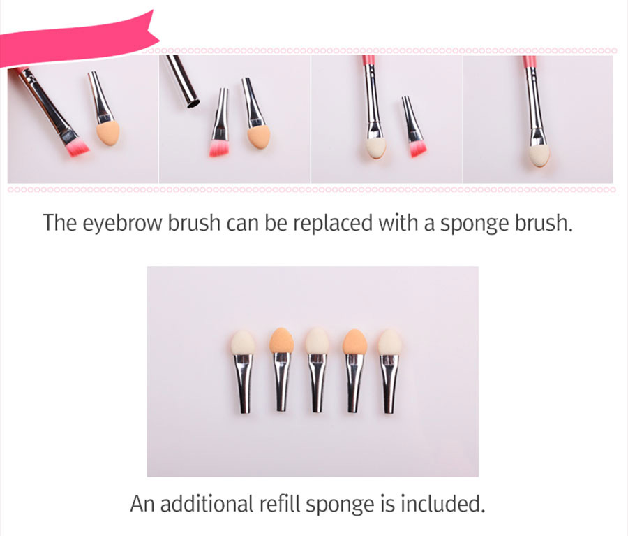 Sweet Pink Brush - Set