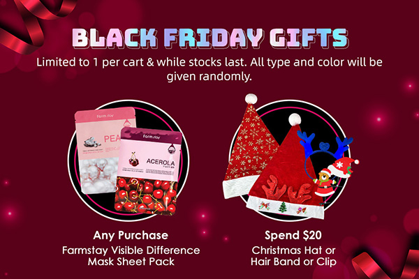 Black Friday 2020-sub-free gifts