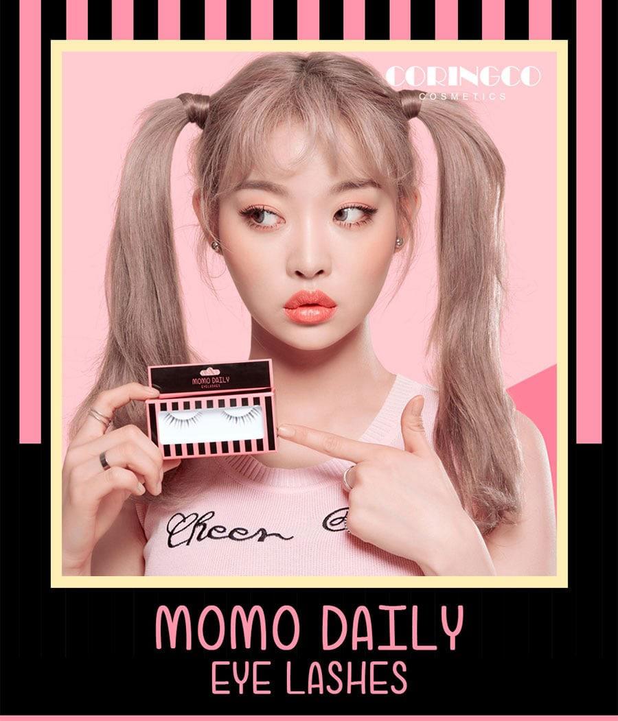Momo Daily Eyelashes - Model