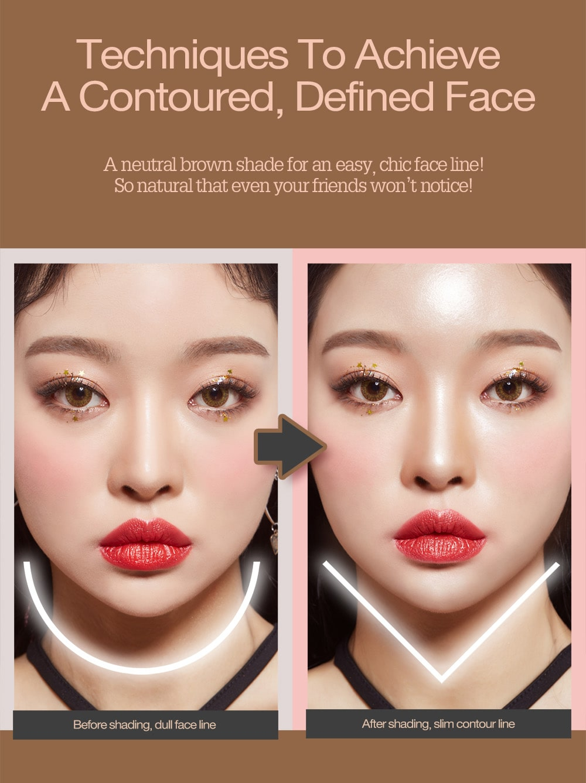 Pink Square Dual Shading - Comparison