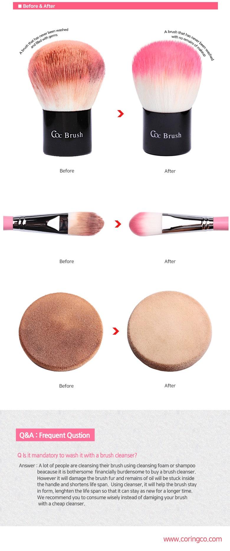 Brush Cleanser - Comparison