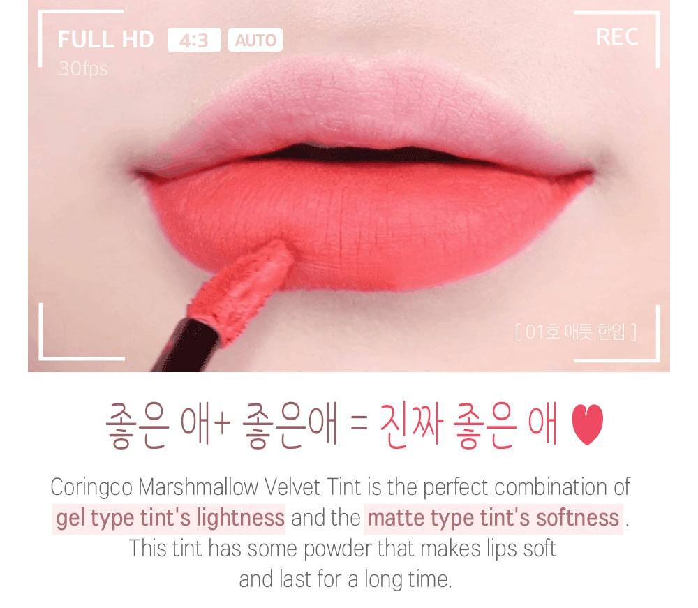 Marsh Mallow Velvet Tint - Look