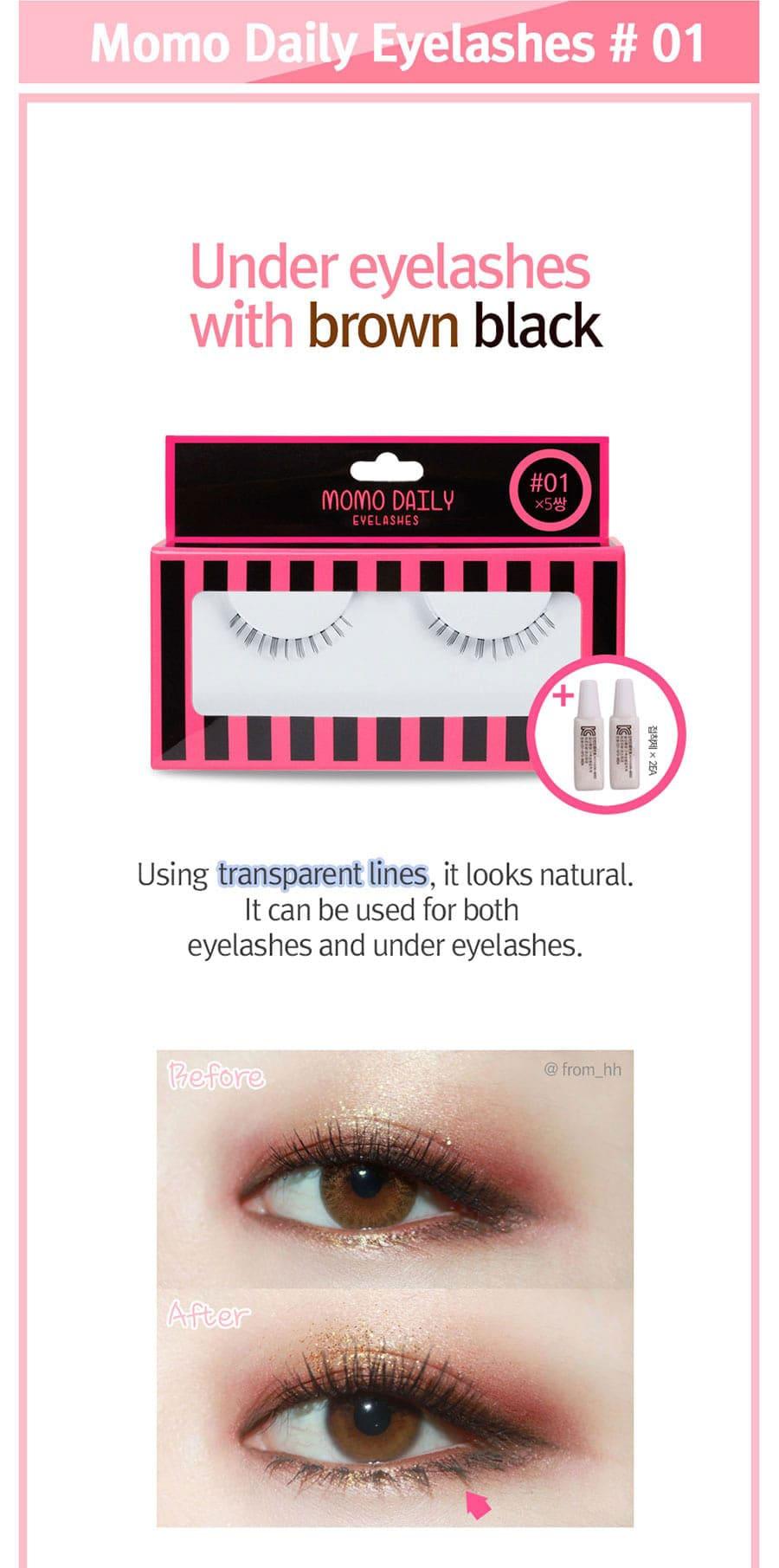 Momo Daily Eyelashes - Type