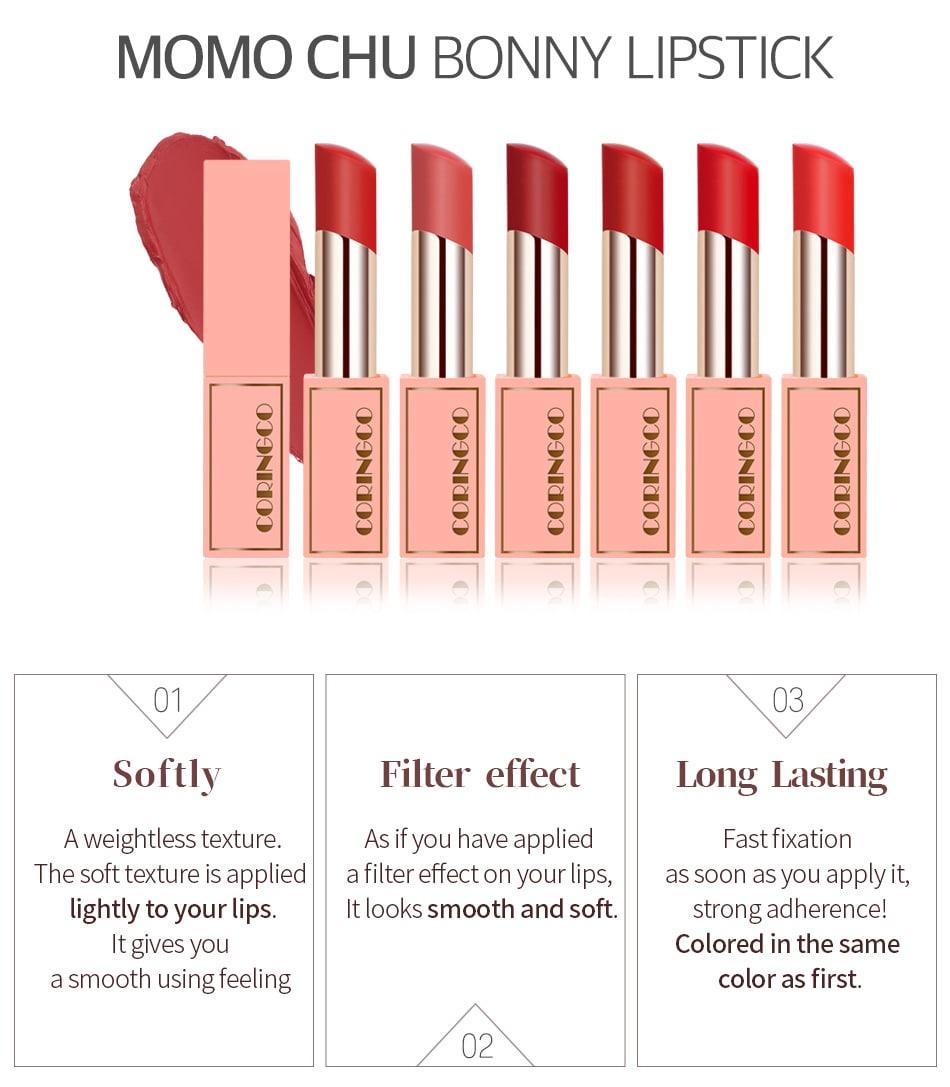 Momo Chu Bonny Lipstick - Features