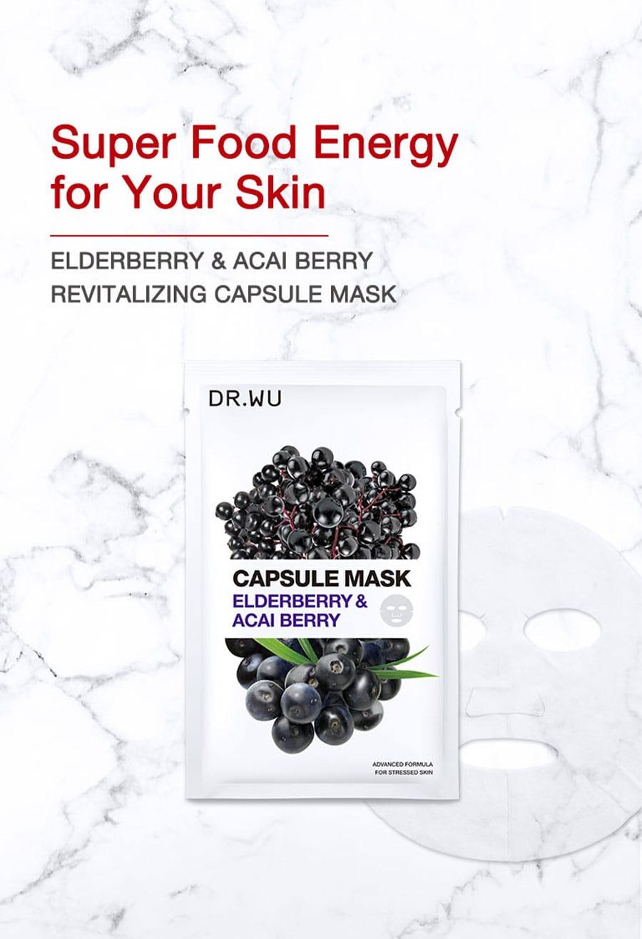 Elderberry & Acai Berry Mask - Intro
