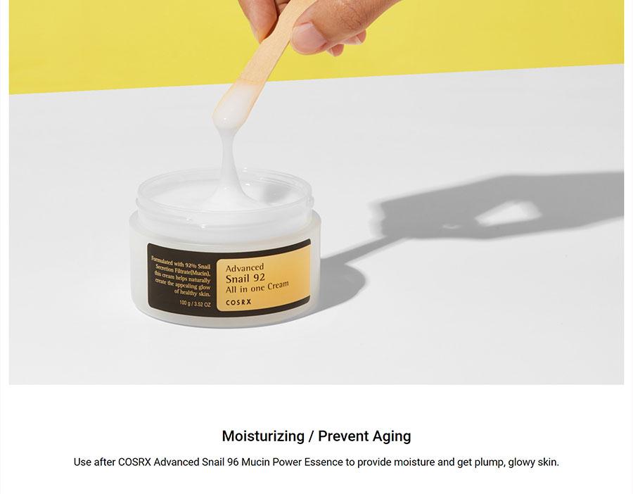 Advanced Snail 92 Cream - Benefit