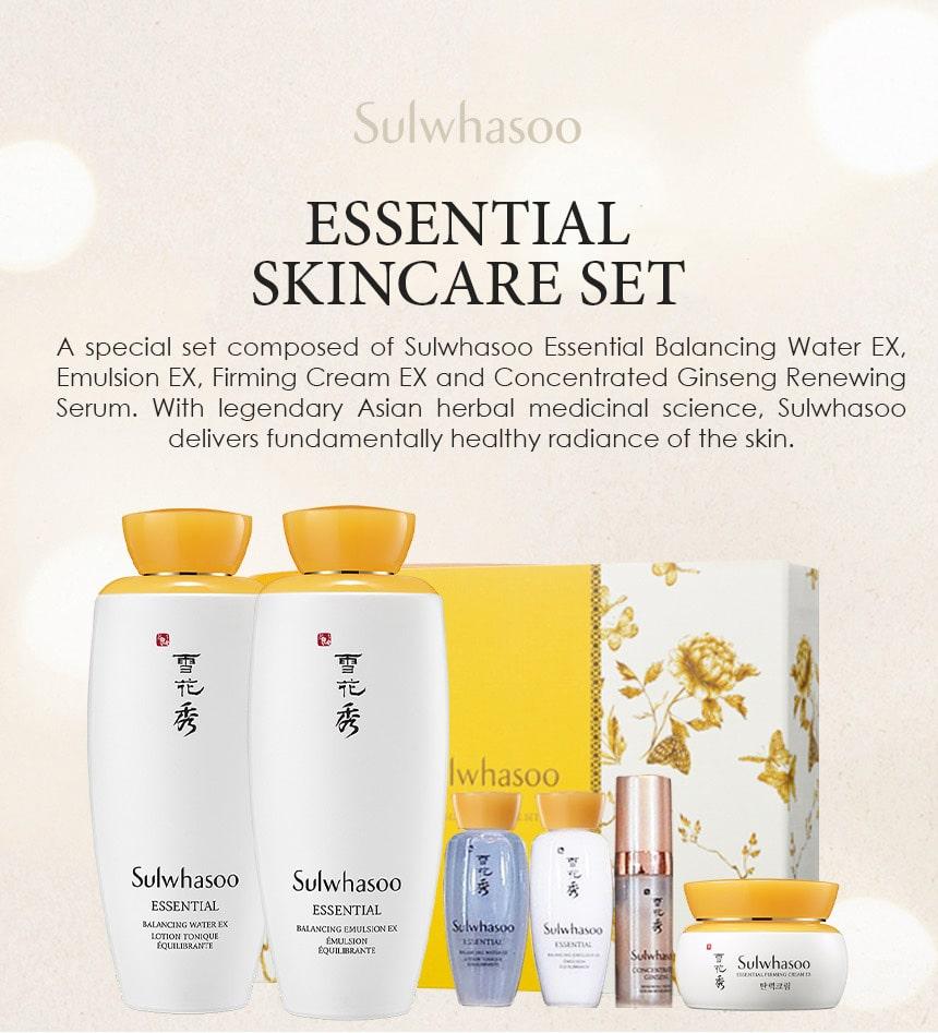 Essential Skincare Set - Intro