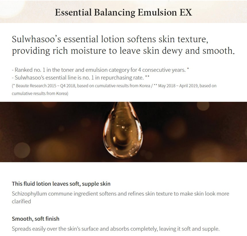 Essential Skincare Set - Emulsion
