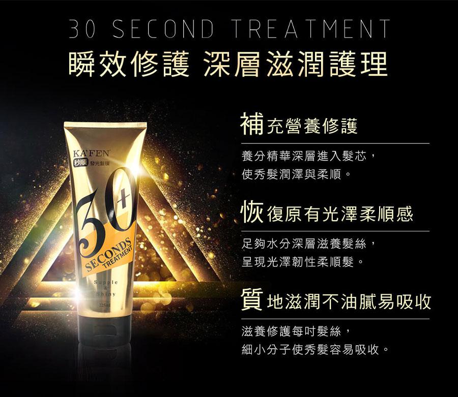 30 Seconds Treatment - Benefit