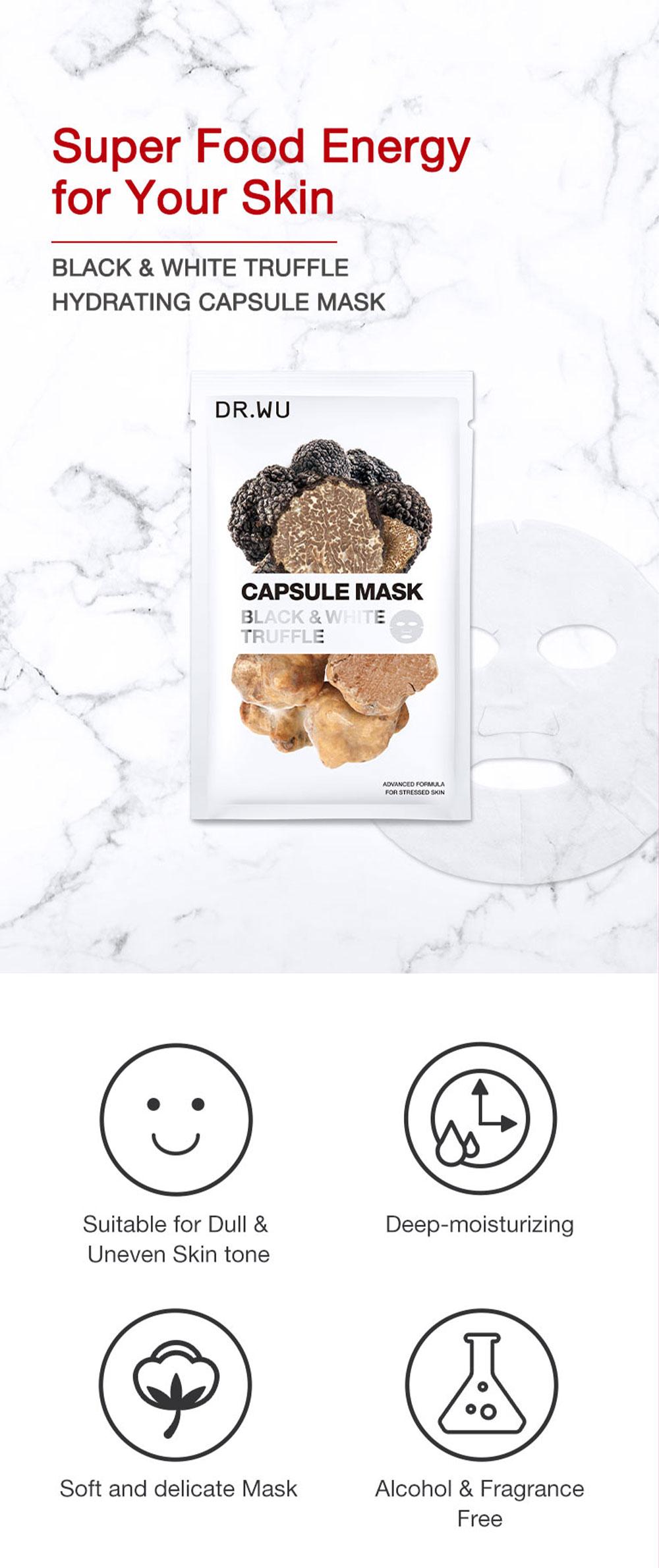 Truffle Hydrating Capsule Mask - Intro