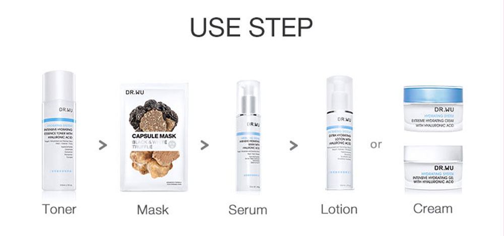 Truffle Hydrating Capsule Mask - How to use