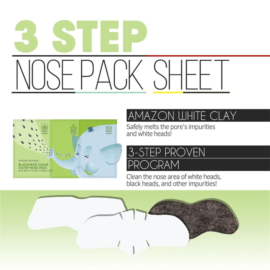 Blackhead 3-Step Nose Pack - Intro