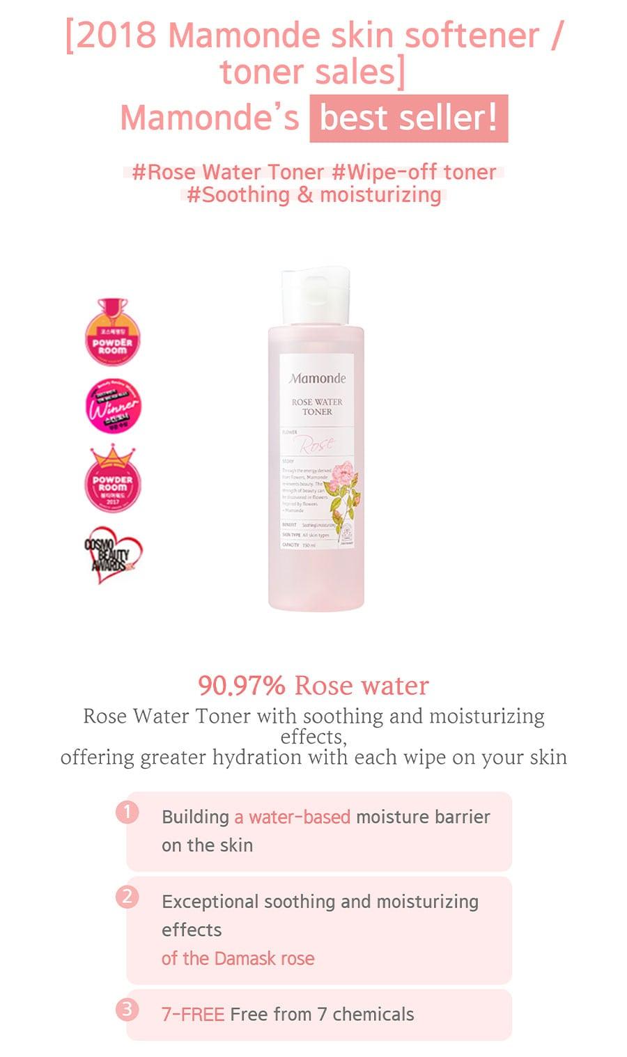 Rose Water Toner - Best Seller