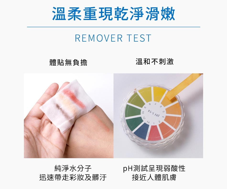 Spring Water Makeup Remover - Test