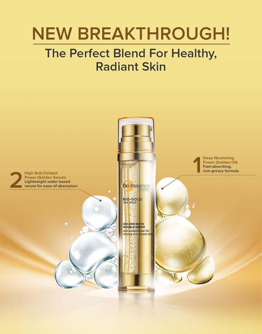 Golden Ratio Double Serum - Benefit