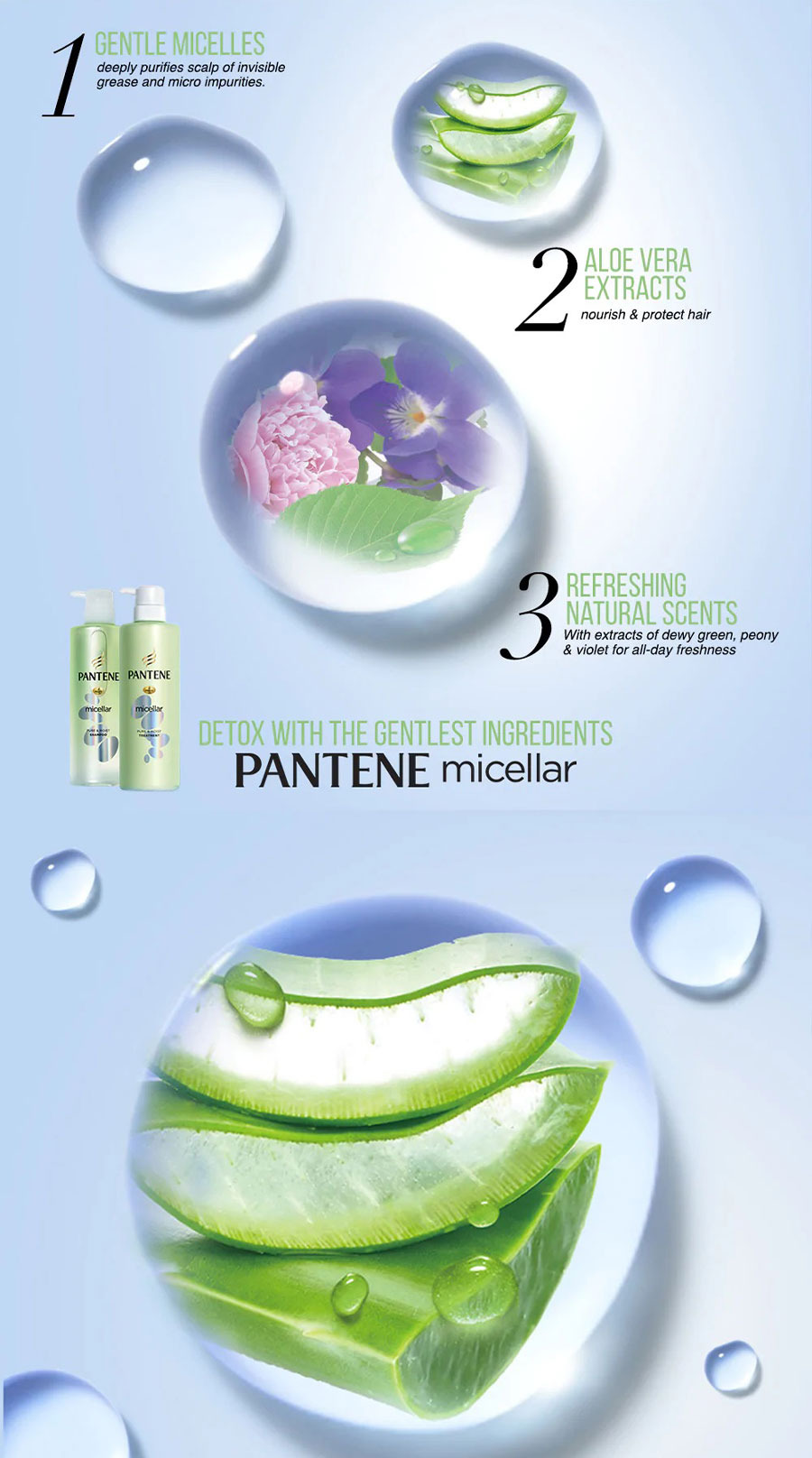Micellar Pure & Moist Shampoo - Benefit