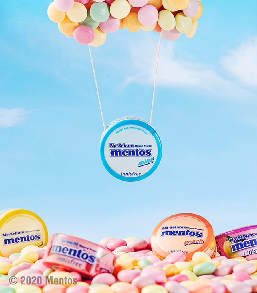 Mineral Powder Mentos Lemon - Picture