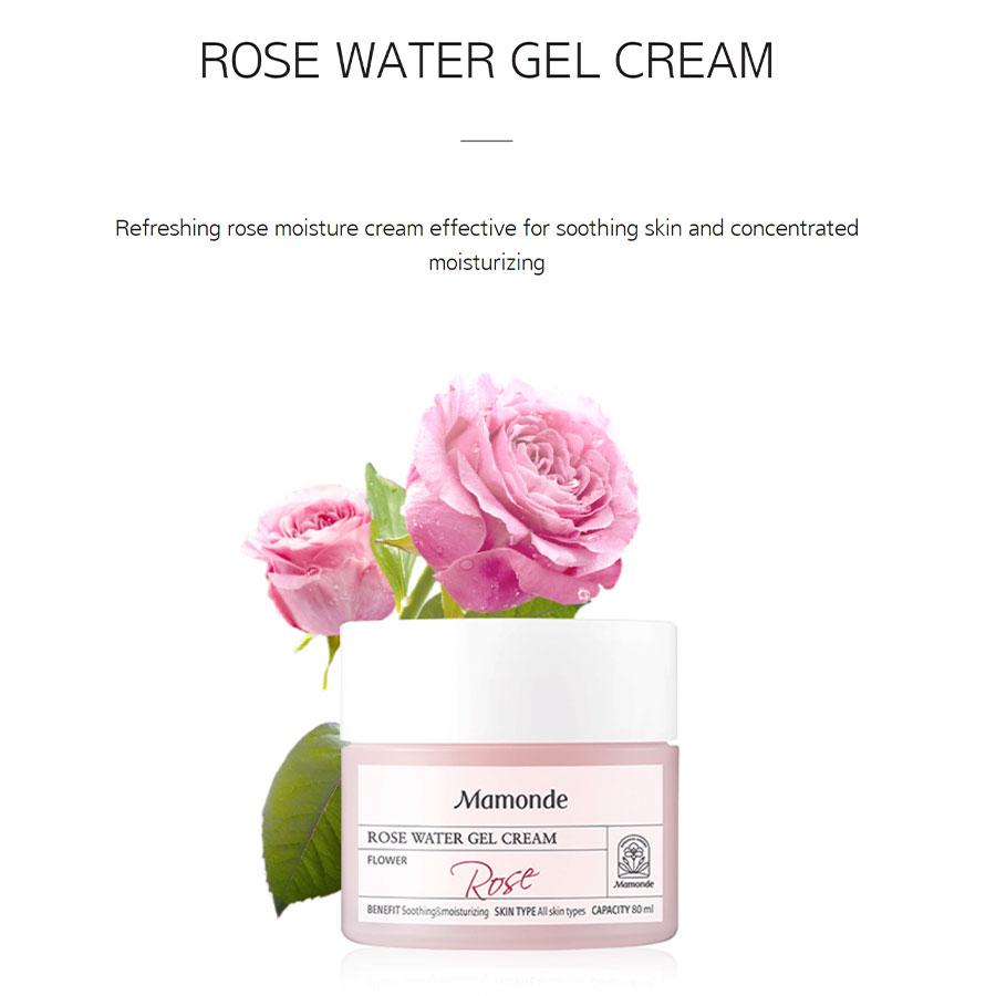 Rose Water Gel Cream - Intro
