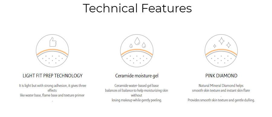 Glowy Makeup Serum - Features