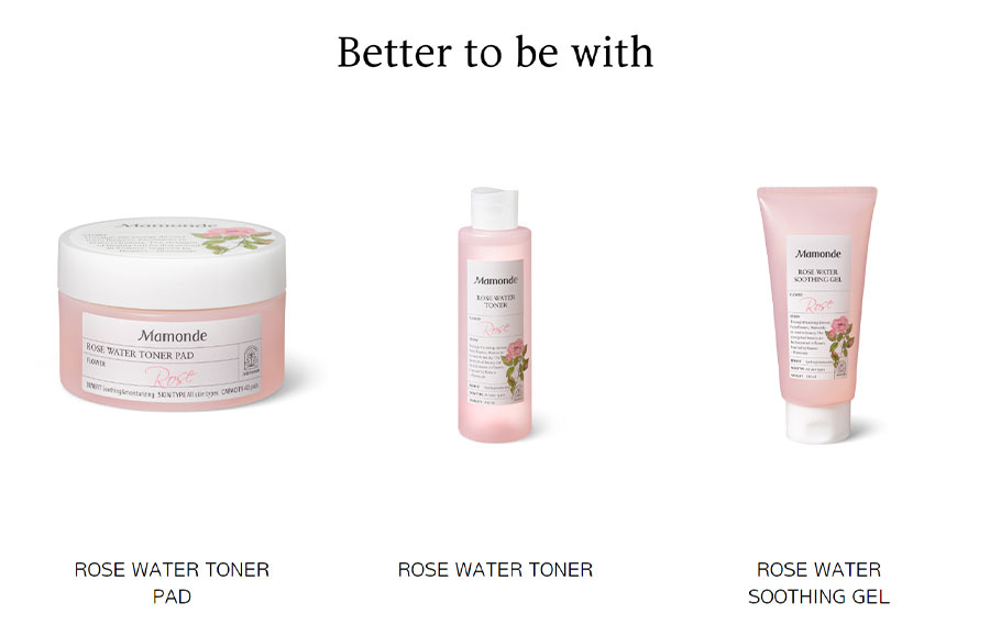 Rose Water Gel Cream - Recommeded