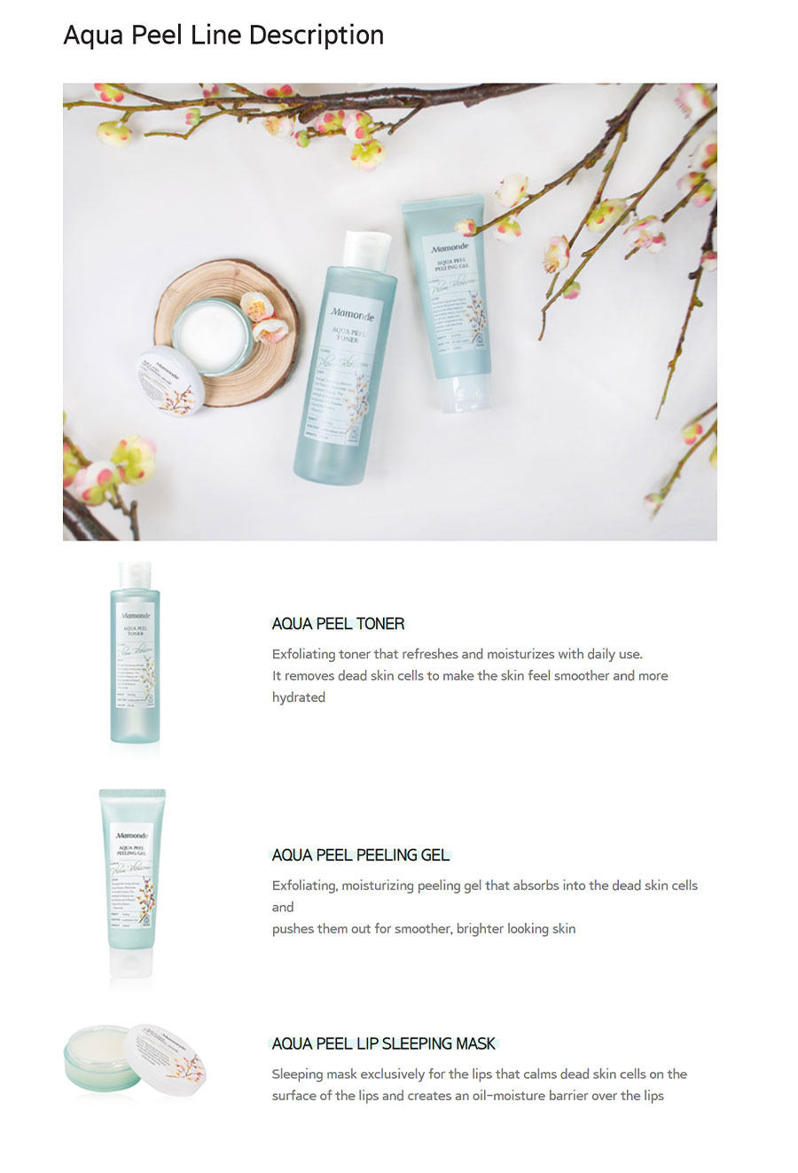 Aqua Peel Peeling Gel - Description