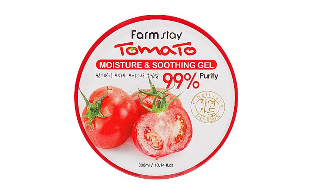 Tomato Moisture Soothing Gel - Packaging