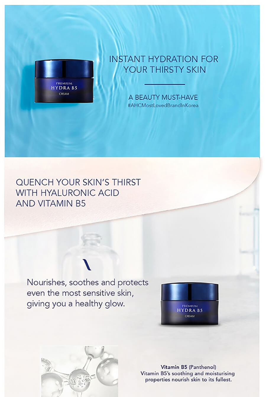 Premium Hydra B5 Cream - Introduction