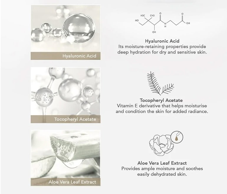 AHC Hyaluronic Cream - Features
