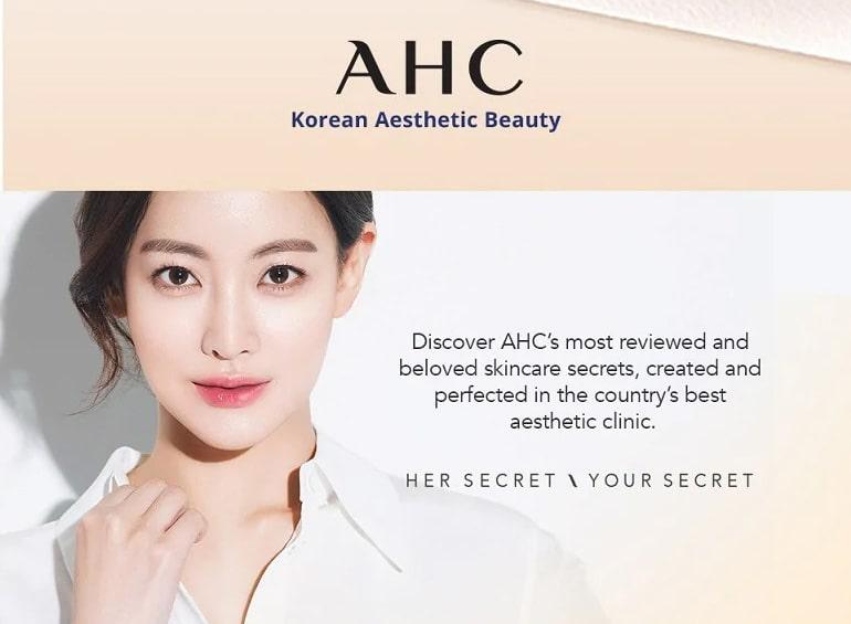AHC Hyaluronic Cream - Brand