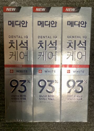 Median Dental IQ 93% Toothpaste Whitening 120g (3 Tubes) photo review