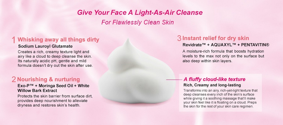 Super Hydrating Cleansing Mousse - Ingredient