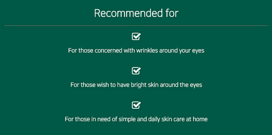 Vitamin Hydrogel Eye Patch - Recommended