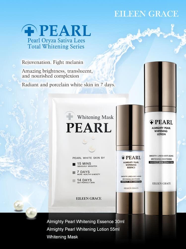 Pearl Whitening Mask - Series