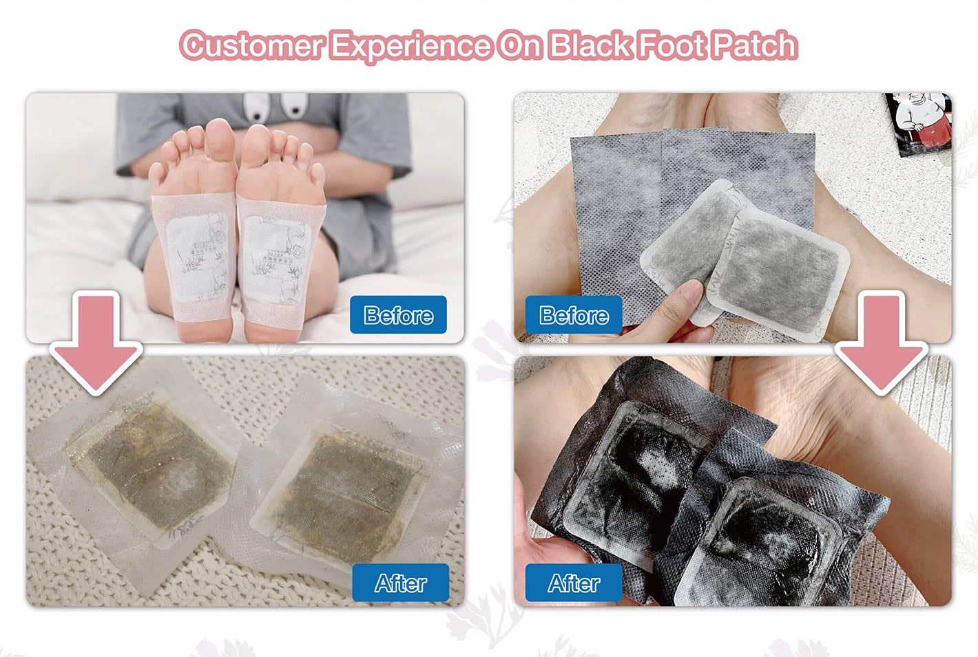 Foot Patch Foot Odor - Comparison
