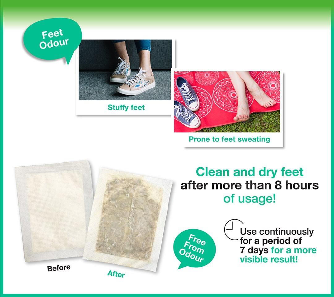 Foot Patch Foot Odor - Benefits