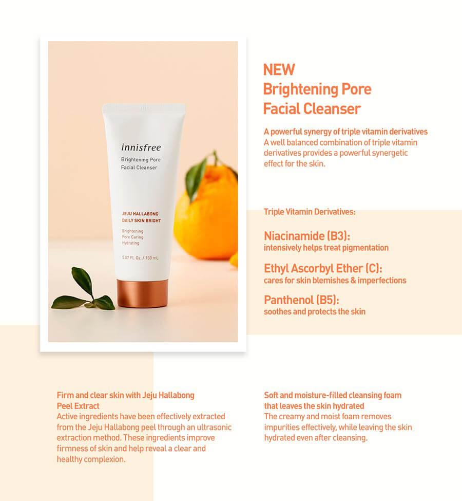 Hallabong Brightening Pore Cleanser - Ingredient