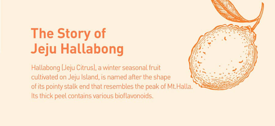 Hallabong Brightening Pore Cleanser - Story