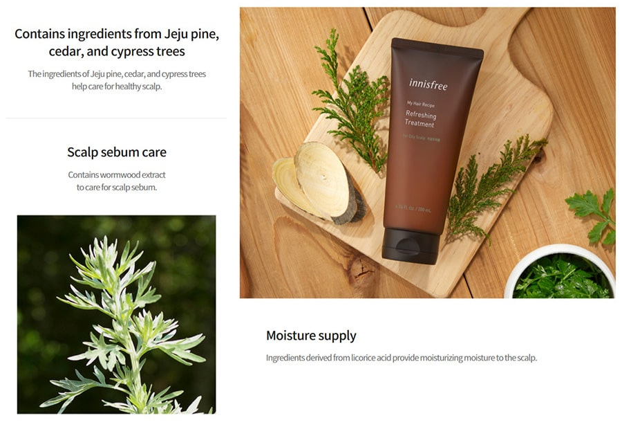 Oily Scalp Refreshing Treatment - Features