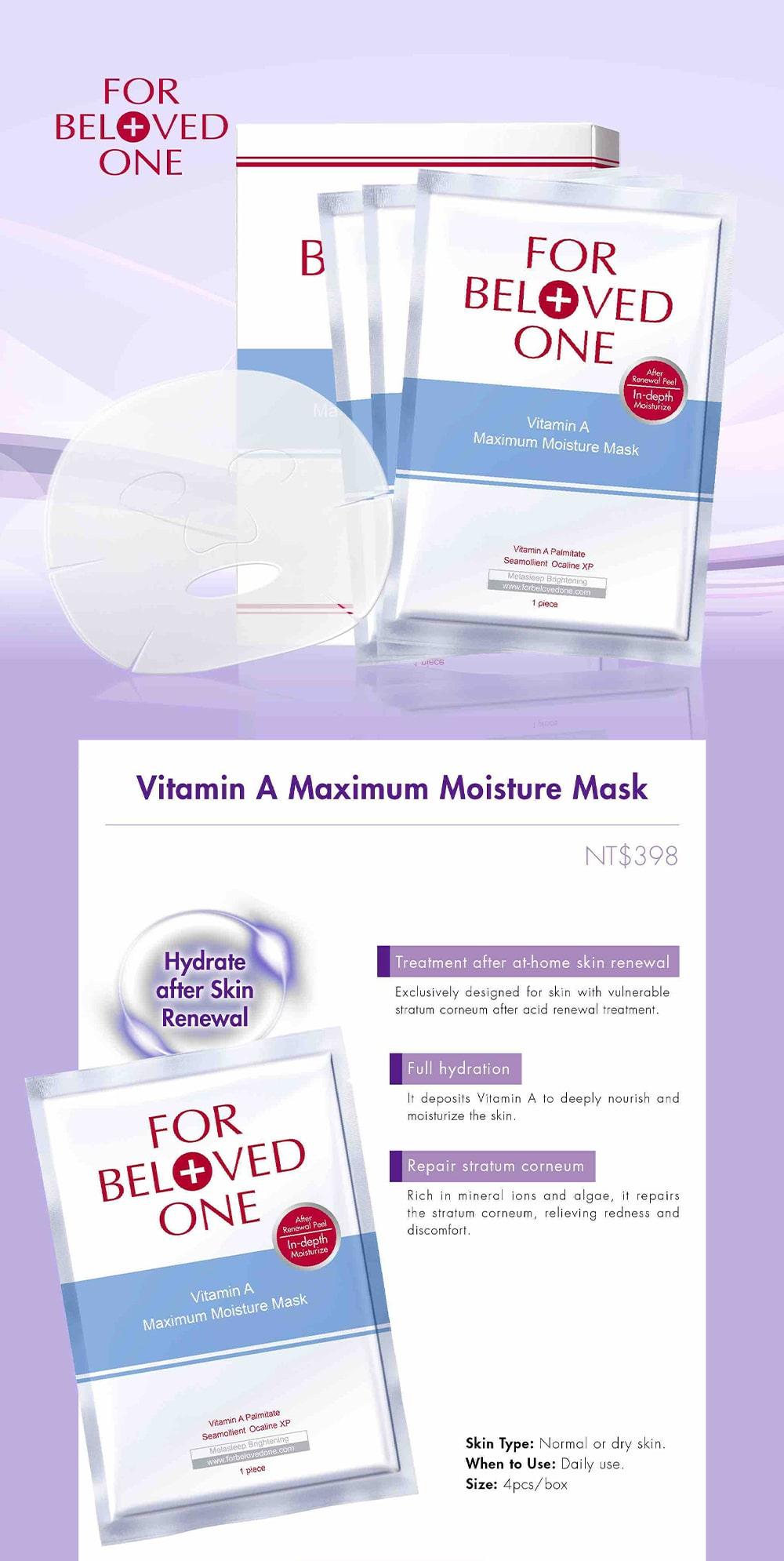 Maximum Moisture Mask - Intro