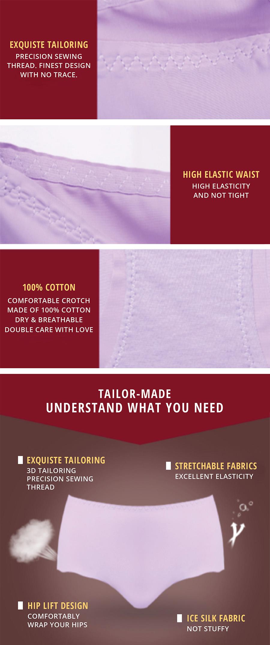 Ice Silk Underwear - Features