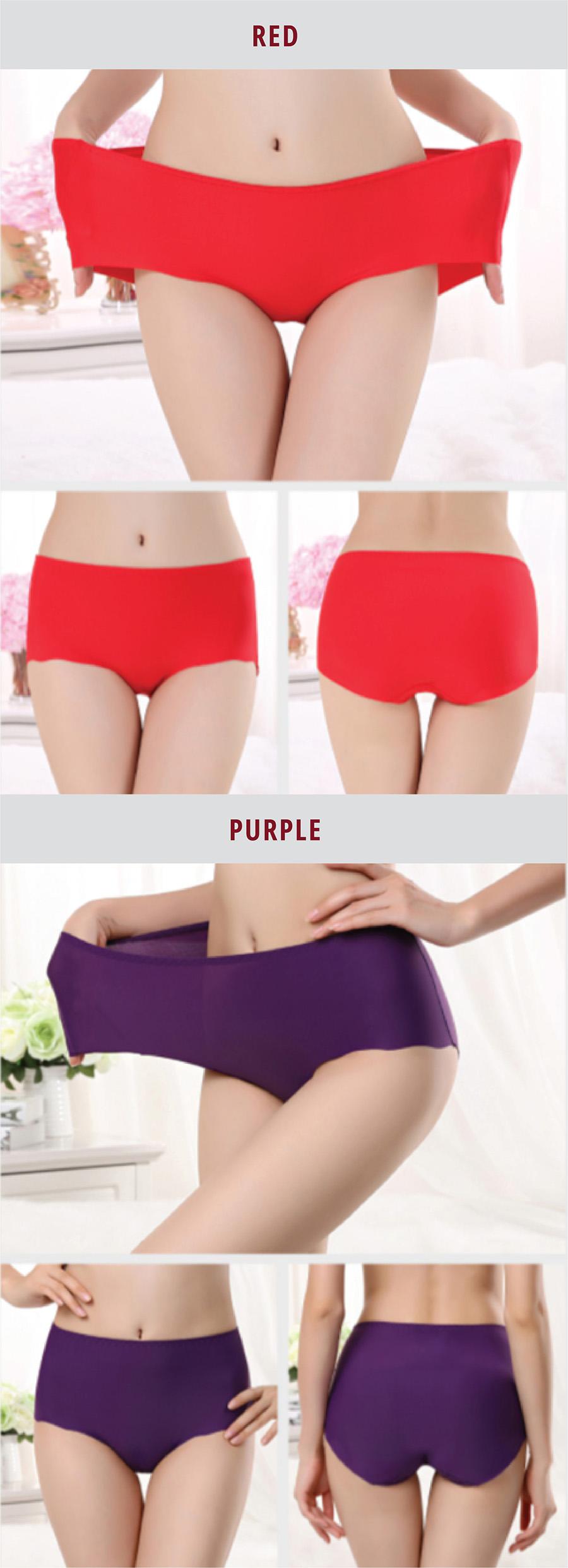 Ice Silk Underwear - Color