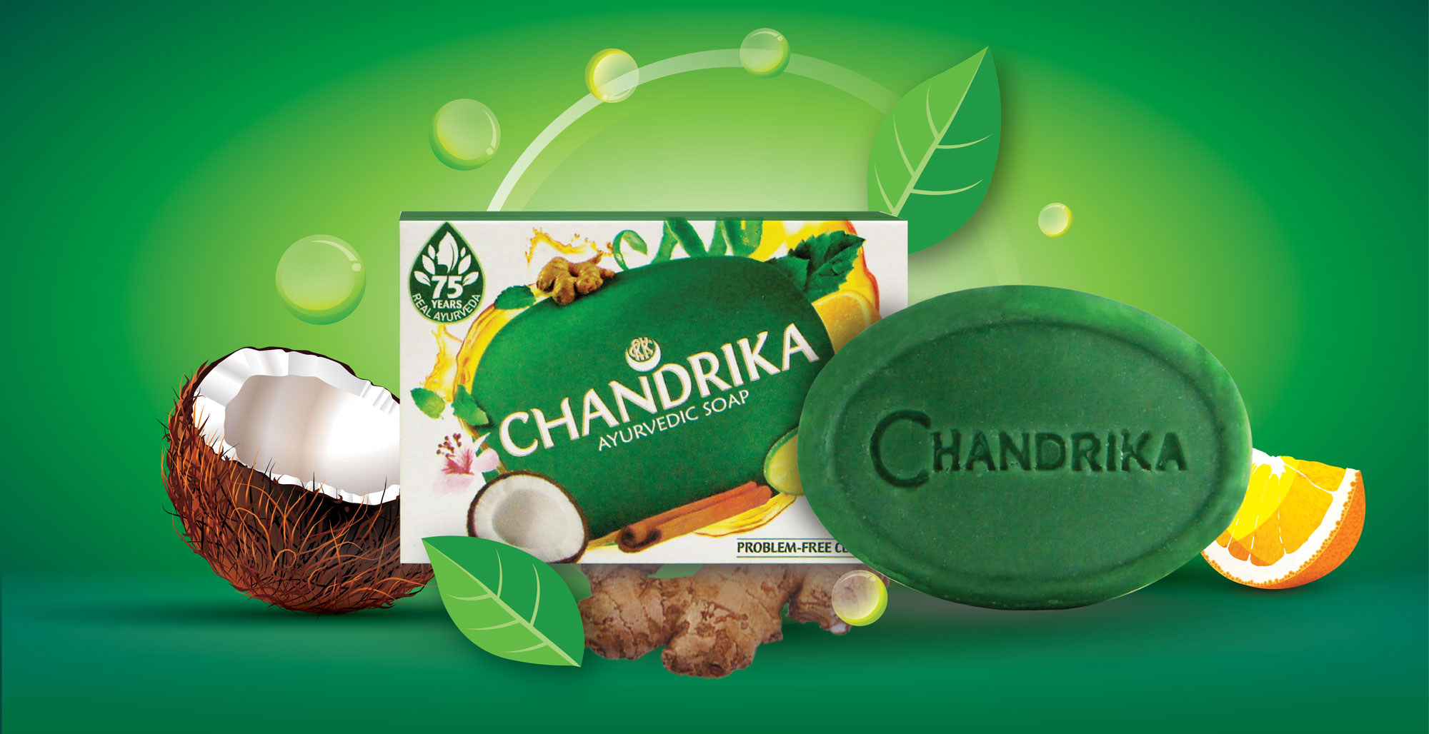 Chandrika Ayurvedic Soap - Intro