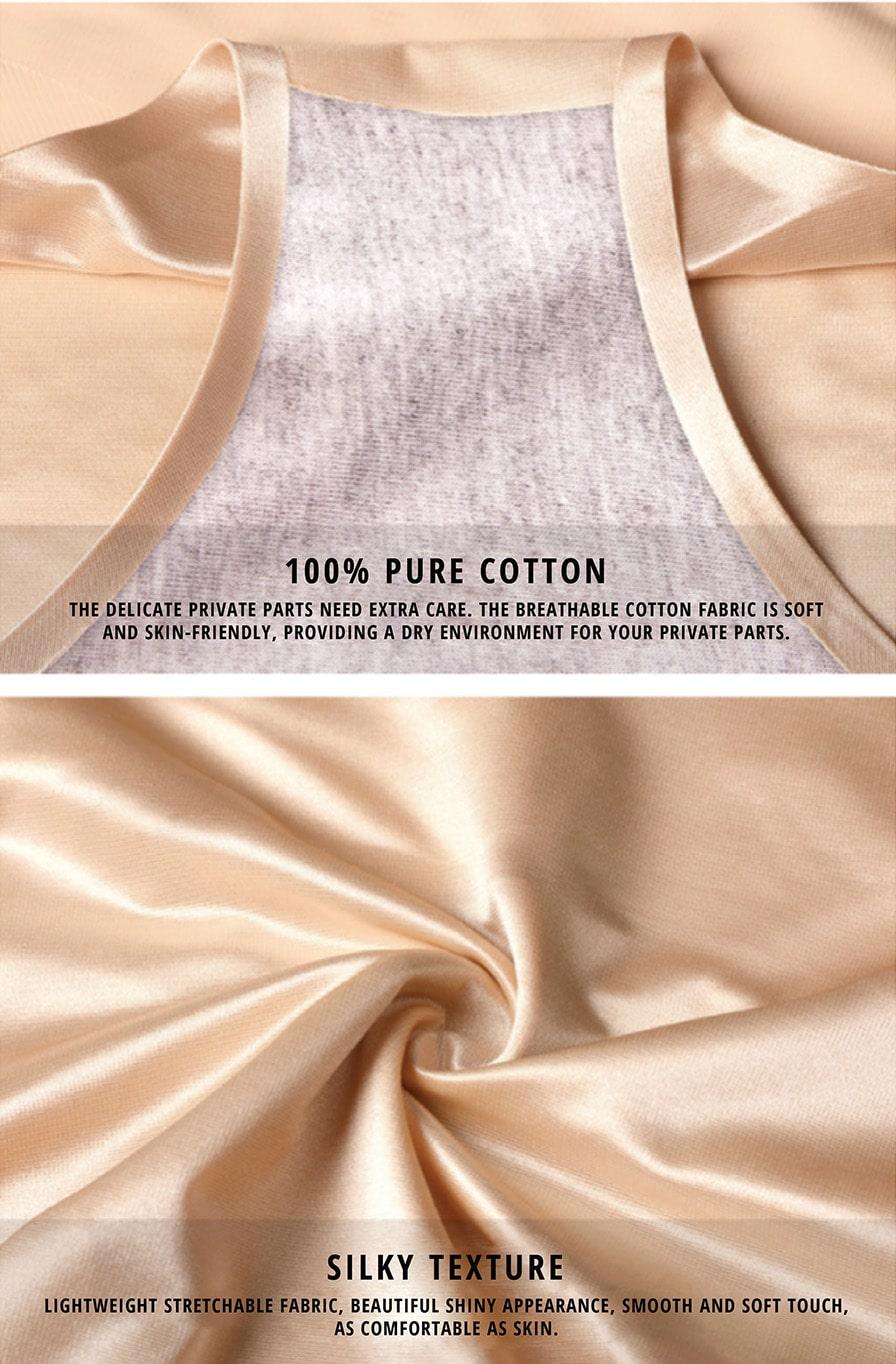 Non-Marking Silky Cross Shapewear - Details