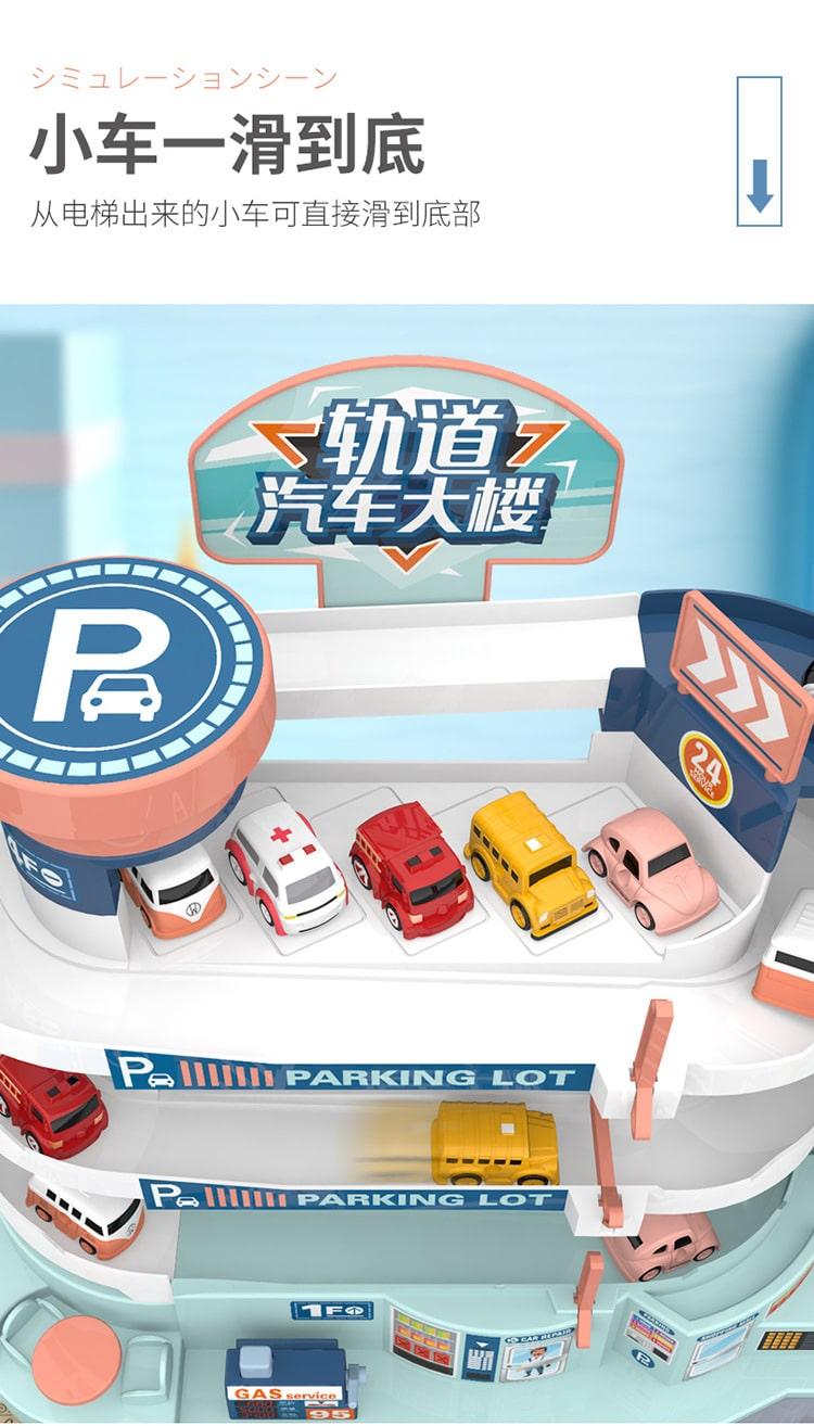 Parking Lot Car Building - Features