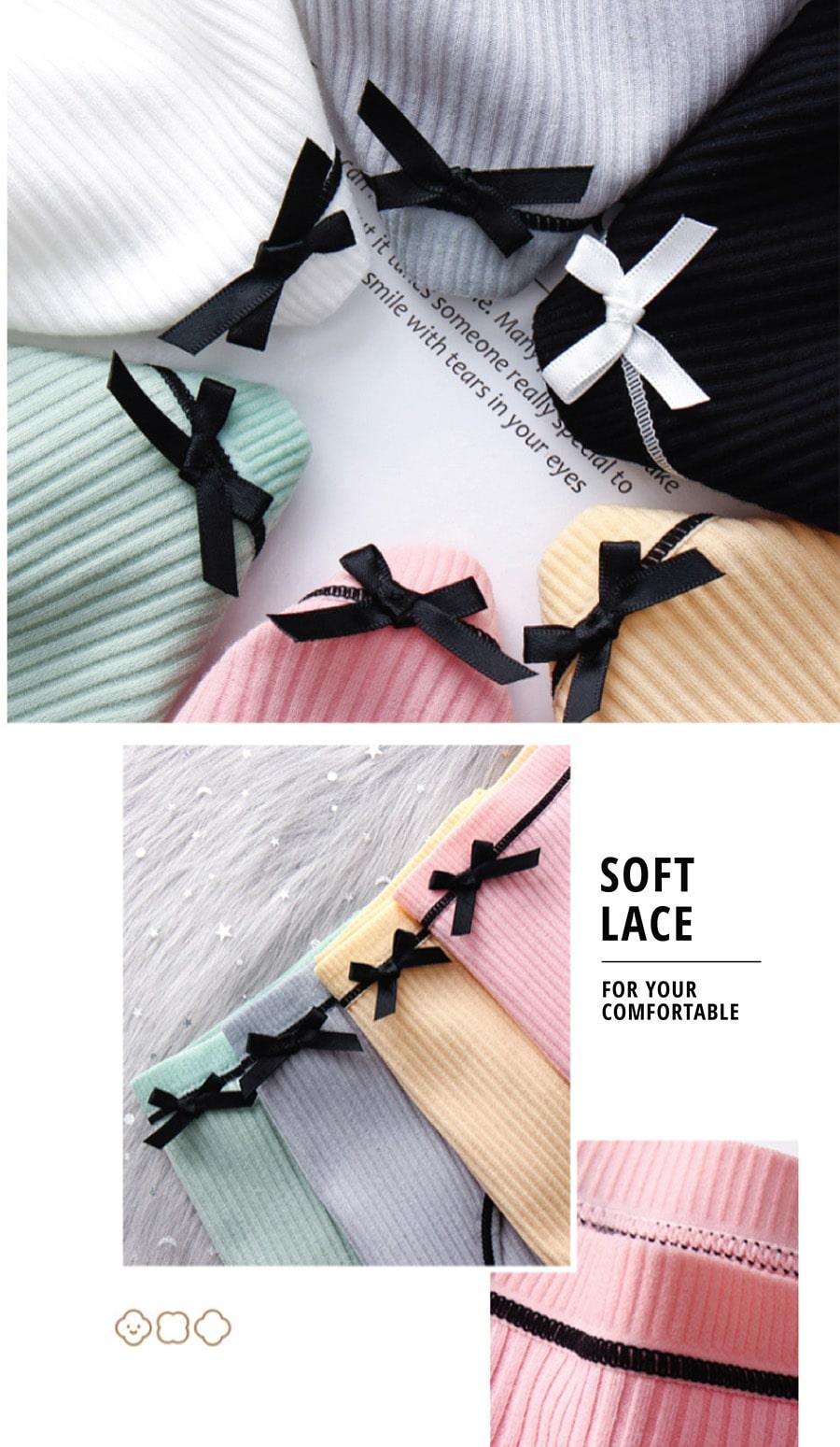 Bowknot Cotton Panties - Features