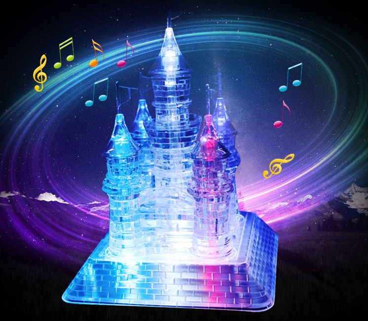 Flash Music Castle - Music Light